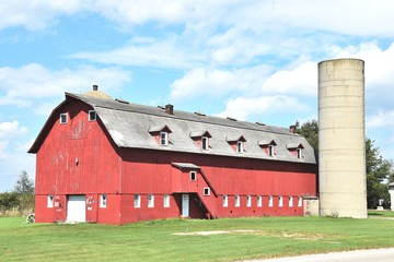 Big Barn and Silo