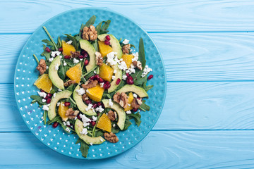 Fruit avocado salad