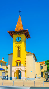 Saint Pierre Chapel at Cagnes sur Mer, France