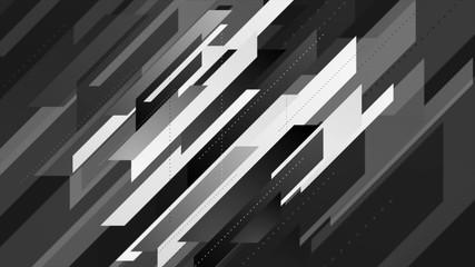 Abstract geometric minimal tech background