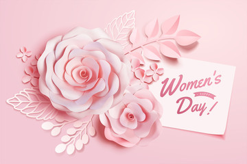 Women's Day floral decorations