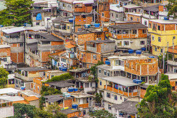 slum in Copacabana Babylon
