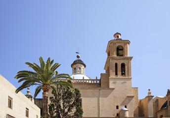 Concatedral de Sant Nicolas de Bari in Alicante. Spain