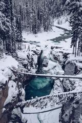 Mountain river in Canada
