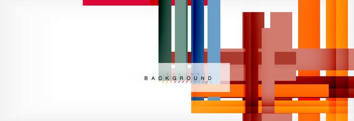Poster Echelle de hauteur Minimal line design abstract background