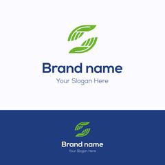 Brand name logo