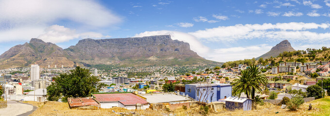 Fotobehang Afrika Panorama of Cape Town