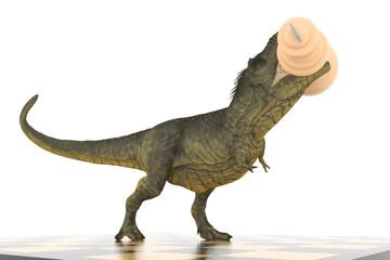 победитель тираннозавр