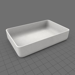 Oven serving dish