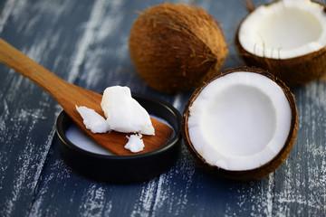 Kokos  , Kokosfett