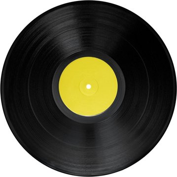 Vinyl Record - Isolated