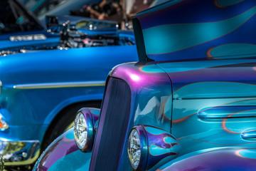 Cool Hot wheels Hot rod car Wall mural