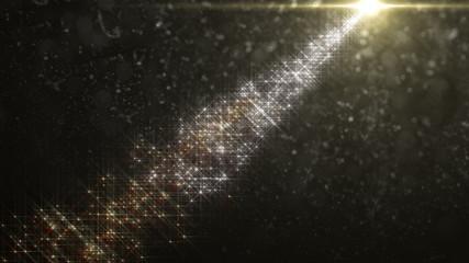 流れ星の光