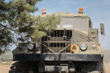 MILITARY TRUCK -  A great military vehicle of the Soviet construction from the Cold War era