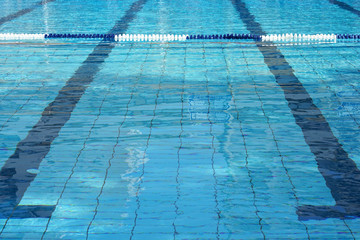 Swimming Pool Underwater Lanes
