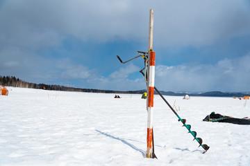 冬の北海道 朱鞠内湖