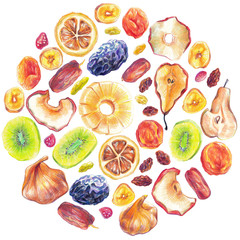 Dry Fruit Big Set