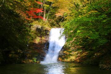 背戸峨廊・夏井川の支流(福島県・いわき市)