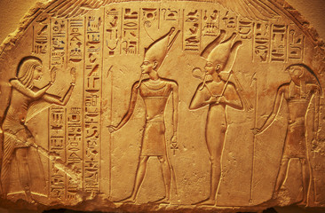 In de dag Egypte Ancient Egypt hieroglyphs