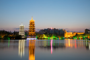 asia city by night