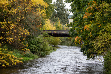 Vilnele river in Uzipis district