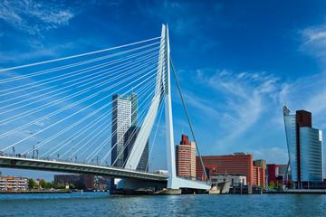 Photo sur Aluminium Rotterdam Rotterdam cityscape, Netherlands