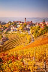 Treiso in Autunno, Langhe, Piemonte, Italia