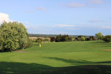 Golf Green and Fairway