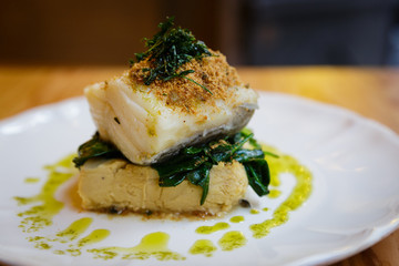 Gourmet Baked Codfish