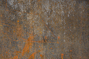 Pitted Rusty Metal Background