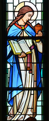 Hl. Maria Magdalena, Glasgemälde