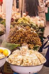 Thai produce market