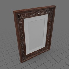 Ornate picture frame 2