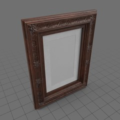 Ornate picture frame 1