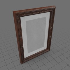 Ornate picture frame 3