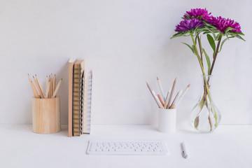 Home office for freelancer, blogger