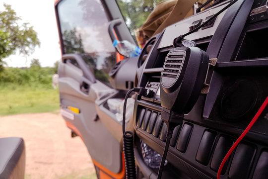 Walkie-talkie,radio communicate,Electric car, radio transmitter