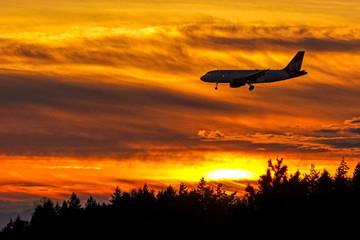 Sunset Approach