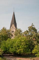 Blick auf St. Gallus, Detfurth