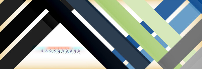 Line abstract background, vector modern template
