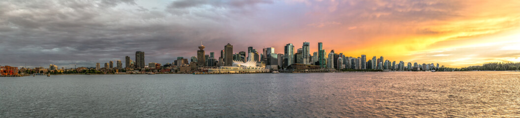 Downtown Vancouver Fotomurales