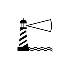 lighthouse icon. Element of beach holidays icon for mobile concept and web apps. Isolated lighthouse icon can be used for web and mobile. Premium icon