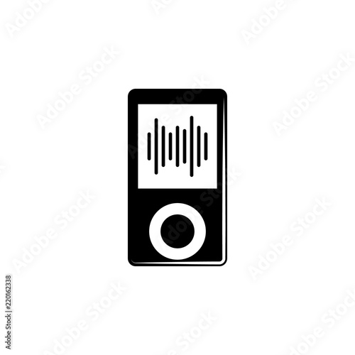 music player icon  Element of music icon  Premium quality