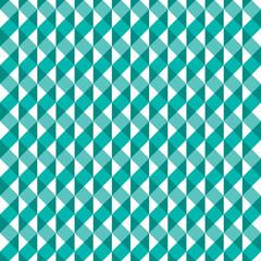 Seamless abstract geometric spiral ribbon pattern