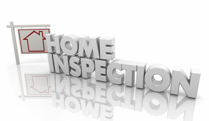 Home Inspection House Inspector Evaluation 3d Illustration