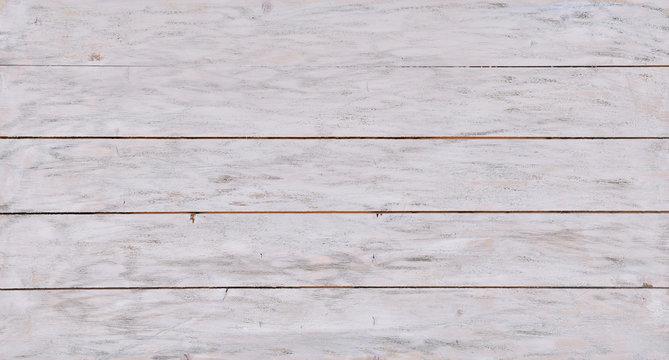 White Wood Textured Background