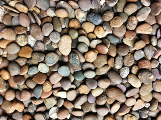 mooth Pebble stones texture