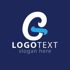 G Initial letter logo vector