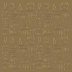 egyptian written language style background