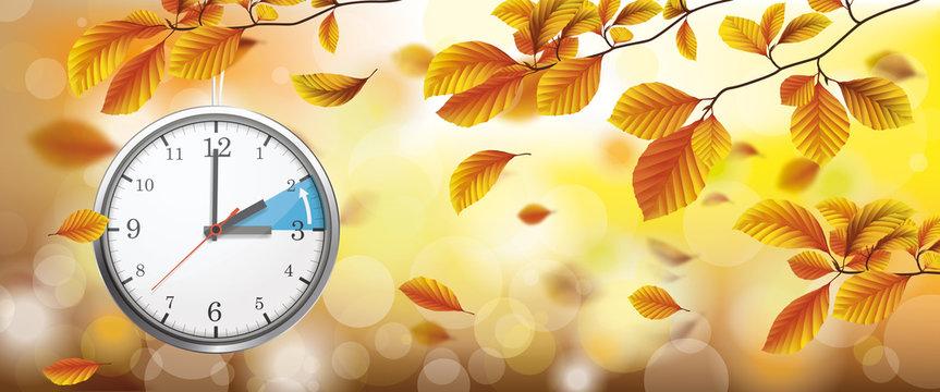 Autumn Foliage Fall Sunlights Wind Standard Time Header